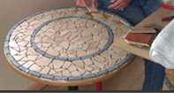 mosaic-table top
